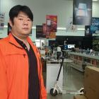 PB Tech store manager Donny Dong. Photo: RNZ