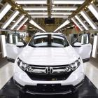 A new Honda comes off the line at Dongfeng, Honda's third factory, last year in Wuhan, Hubei...