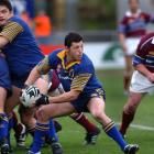 Byron Kelleher in action for Otago against Southland. Photo: Getty