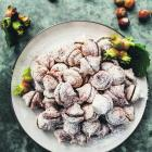 Chocolate hazelnut meringues. Photo: Emma Willetts