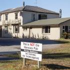 The former Hororata Hotel did not sell at auction and is up for sale 'as is, where is.'...