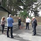 Local country music enthusiasts chat to Waimakariri Mayor Dan Gordon about the fate of the...
