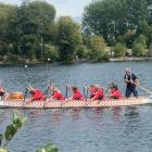 Oxford Area School has enjoyed dragon boat success. Photos: Oxford Area School