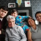 A Colombian family living in Invercargill are already in self-isolation (from left) Alexander...