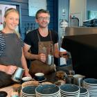 The Batch Cafe barista Grace Holland and co-owner Gareth Hamilton will continue to provide a...