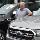 Dunedin City Motors sales manager Keith Kippenberger. Photo: Gregor Richardson