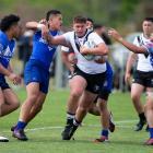 Hornby's Felix Fa'atili has a bright future in rugby league.