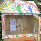 This Lilliput Library in Greig St, Broad Bay, Dunedin, has been closed as a precaution during the...