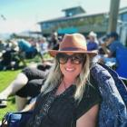 Lisa Scott enjoys the Twizel Salmon and Wine Festival, on a day off. Photo: Nathan Meikle