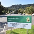 Logan Park High School in Dunedin was closed yesterday. Photo: Gregor Richardson