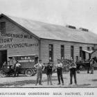 The Silverstream condensed milk factory, near Dunedin. — Otago Witness, 23.3.1920.   COPIES OF...
