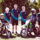 Among the 200 people involved in organising the Danseys Pass Trail Ride are (from left) Duntroon...
