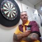 Oamaru Club darts section and central region darts president Jason Milne at the Oamaru Club,...