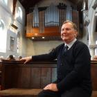 Organist Tim Lees, once Royal Organist to the Sultan of Oman, ahead of his performance at St Luke...