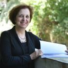 University of Otago academic and author Prof Lisa Smith on campus yesterday. PHOTO: GREGOR...