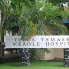 The patient is in a stable condition in TTM Hospital in Samoa. Photo via NZ Herald