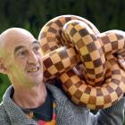 Mosgiel joiner Barrie Aburn has given his national award-winning sculpture to his alma mater,...