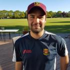 Sam Carlaw took five wickets without conceding a run. Photo: Supplied