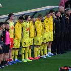 Wellington Phoenix players and staff. Photo: Photosport