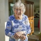 Aldy Butcher celebrates her 100th birthday in lockdown at Archer Retirement Village and Rest Home...