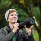 University of Otago student and bird watcher Oscar Thomas is noticing an increase in the number...