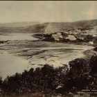 First known photograph of Dunedin from 1857. PHOTO: Toitū Otago Settlers Museum