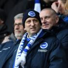 Tony Bloom. Photo: Getty Images
