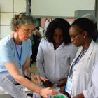 Prof Stanton (left) and her team in her laboratory have been working for several years on...