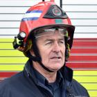 Fire and Emergency NZ Senior Station Officer Mark Leonard at Dunedin City Fire Station, where...