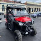 Mountain Biking Otago's new Honda Side by Side ATV was stolen in a brazen lockdown theft. Photo:...