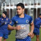 Josh Ioane trains with the Otago squad last season. Photo: Gregor Richardson