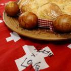 Elizabeth Helm's decorated eggs. PHOTO: GREGOR RICHARDSON