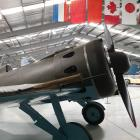 Arrangements are being made to ship this Polikarpov I-16 Russian fighter aircraft back to Germany...