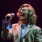 David Bowie headlines Glastonbury in 2000, his first time back at the festival since 1971, when...