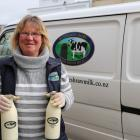 Bottled fresh ... Beth Henderson, of Henderson Dairy Farm Fresh Milk, has been busy delivering...