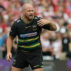 Ben Franks has taken up a coaching position with Welsh rugby club Scarlets. Photo: Getty Images...