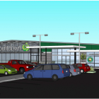 The revised plans for a Countdown supermarket in Lincoln. Photo: Supplied