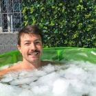 Bachelor star Art Green has been ice bathing for three or four years. Photo: Instagram