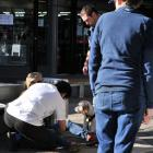The incident occurred at a North Dunedin pharmacy on Saturday. Photo: Christine O'Connor