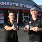 Bacon Butty Station co-owners Tia Winikerei and Mike Cornelissen reopened their eatery in central...