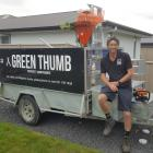 Green Thumb Property Maintenance owner Michael Lucas has made small changes to stick to the Alert...