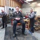 Stihl Shop Dunedin mechanics David Faigan (left) and Doug Williamson reckon they can give sales...