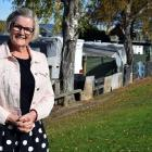 Taieri Community Facilities Trust chairwoman Irene Mosley is pleased a site for the new Mosgiel...