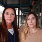 Esther Gantus, left, and Luana Karina de Aguiar Goncalves. Photo: Scene