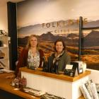 Sarah Sisson and Rebecca McNaughton of Clyde home design store and gallery Folklore are counting...