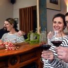Bracken restaurant owners Jacqueline and David Burt toast the arrival of Covid-19 Alert Level 1...