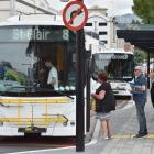 The Dunedin City Council is considering an inner city bus loop trial. Photo: ODT files