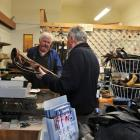 As Bill Drake's store empties out, a customer comes in to see if anything can be done for his...