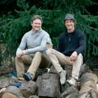 Michael Sly (left) and Mathurin Molgat founded Wilding and Co, which produces ...