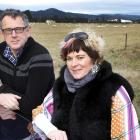 Four Good Foods directors Mike Tate and Aimee Charteris have been trialling the collar technology...